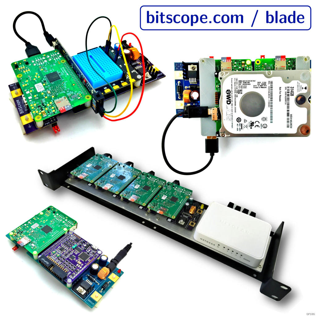 BitScope Blade Application Examples.